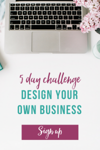 Bad Mom Design Your Business Challenge